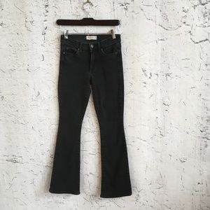GAP GREY BABY BOOT CUT JEANS 25 P